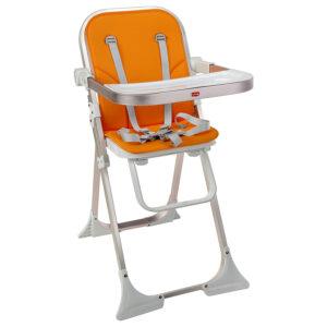 Luvlap Comfy High Chair (18451) - Orange-0