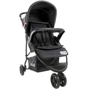 Luvlap Joy Baby Stroller Buggy (18470) - Black-0
