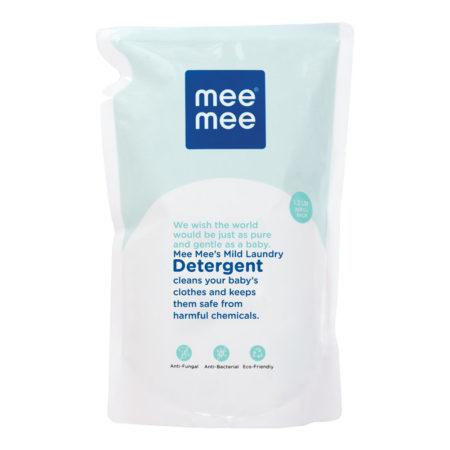 Mee Mee Mild Baby Liquid Laundry Detergent, Refill (1.2 Ltr)-0