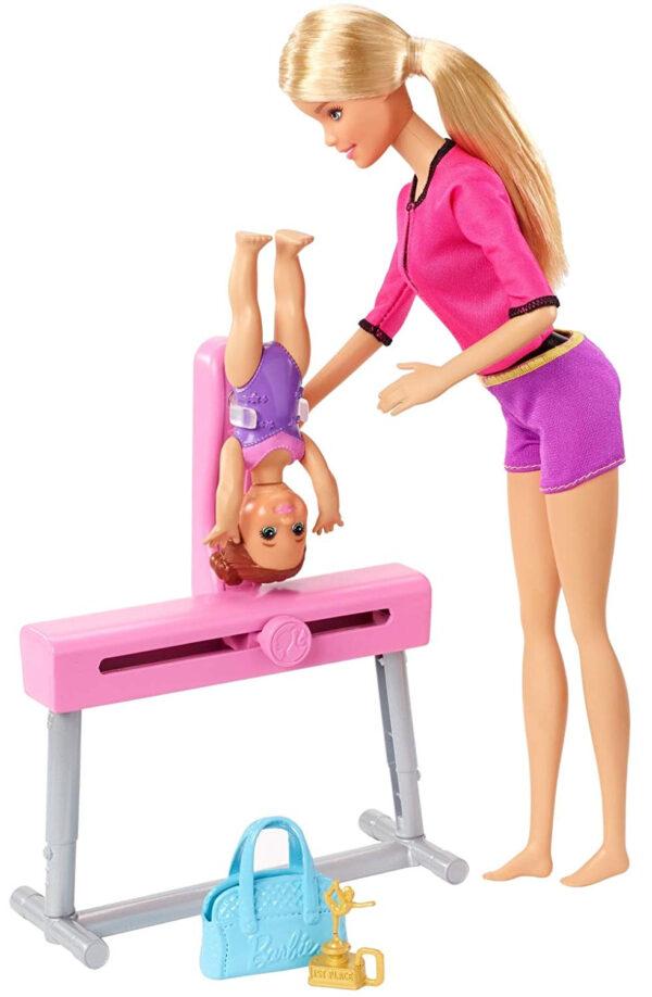 Barbie Gymnastics Coach Dolls and Playset-31129