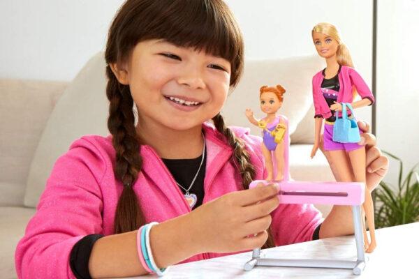 Barbie Gymnastics Coach Dolls and Playset-31124