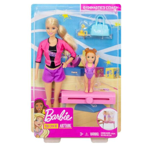 Barbie Gymnastics Coach Dolls and Playset-31126