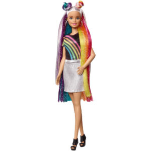 Barbie Doll Rainbow Sparkle Style-0