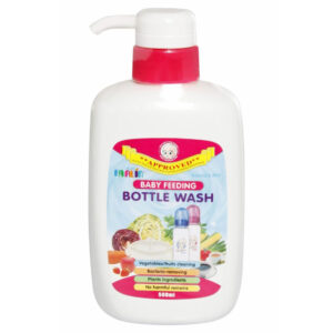 Farlin Anti-Bacterial Baby Liquid Cleanser for Fruits, Bottles, Accessories & Toys - 500 ml-0