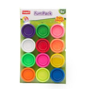 Funskool-Fun Dough Fun Pack - Multi Colour-0