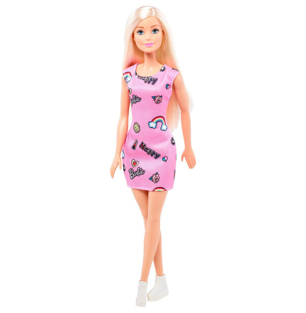 Barbie Skirt Doll (T7439) - Pink-0
