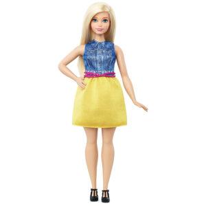Barbie Fashionistas Doll 22 Chambray Chic - Multi Color-0