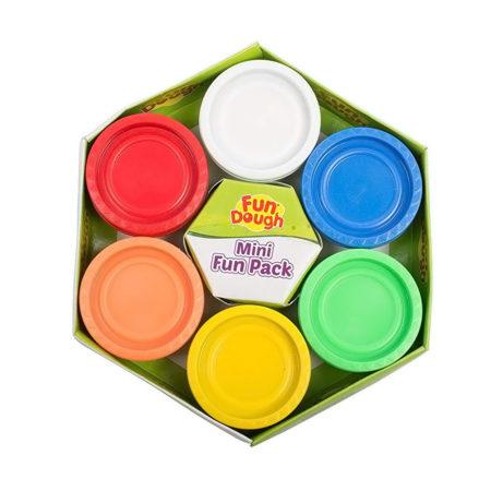 Funskool-Fundough Mini Fun Pack, Multi Colour-0