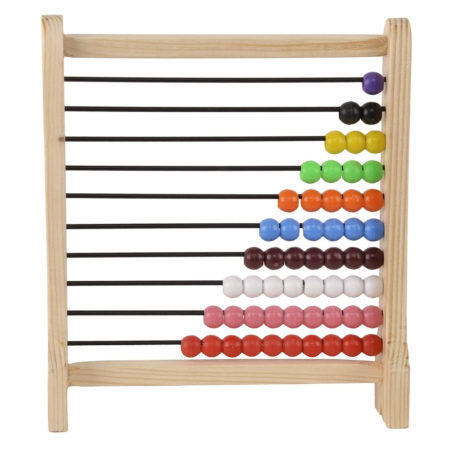 Kinder Creative Small Wooden Abacus Junior (1-10) - Multi Color-0