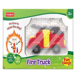 Funskool Fundough Fire Truck - Multicolor-0