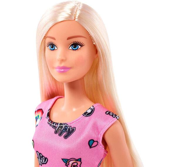 Barbie Skirt Doll (T7439) - Pink-31317