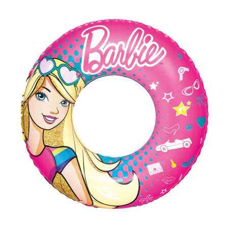 Bestway Barbie Children One Swim Ring Tube - 22 Inch-0