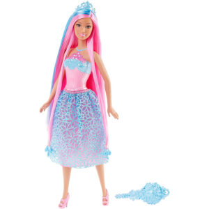 Barbie Endless Hair Kingdom Princess Dolls - DKB56 -0