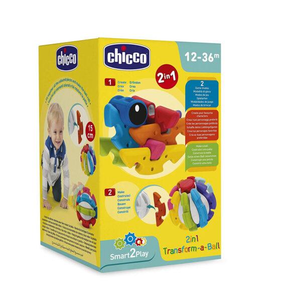 Chicco 2 in 1 Transform A Ball - Multicolor-31196
