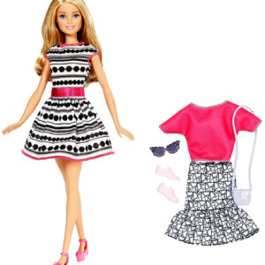 Barbie Fashion Doll Playset (FFF59)-0