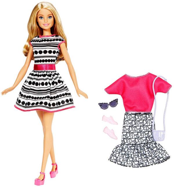 Barbie Fashion Doll Playset (FFF59)-0