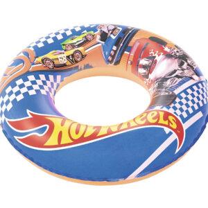 Bestway Hot Wheels Swim Ring, Baby Swim Float - 56cm-0