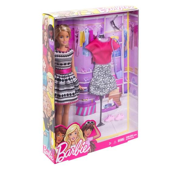 Barbie Fashion Doll Playset (FFF59)-31296
