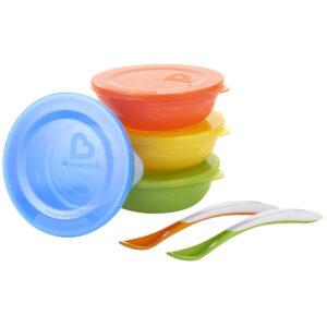 Munchkin Love-a-Bowls ,10 Piece Multicolor Bowl Set-0