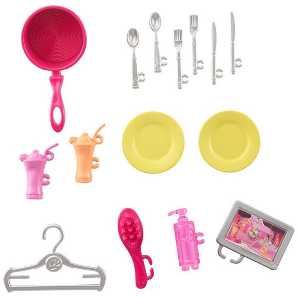 Barbie House and Doll (FXG55) - Pink-31377