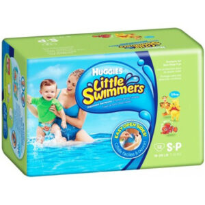 Huggies Little Swimmers, Disposable Swimming Pants 12pcs - Small-0