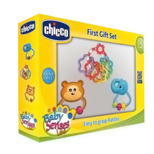 Chicco Baby Senses First Gift Set - Multicolor-0