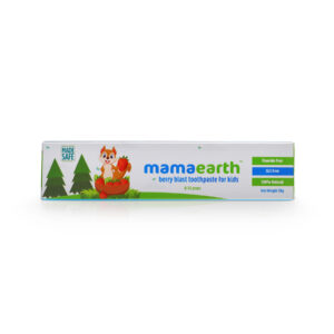 Mamaearth 100% Natural Berry Blast Toothpaste for Kids - 50gm-0