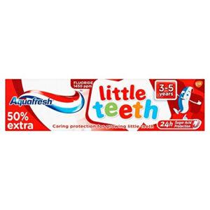Aquafresh Little Teeth Toothpaste (3-5Y) - 75ml-0