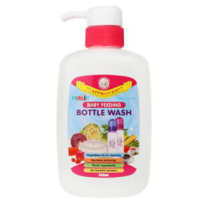 Farlin Anti-Bacterial Baby Liquid Cleanser for Fruits, Bottles, Accessories & Toys - 500ml-0