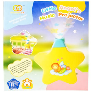 Little Angel Musical Projector - Yellow-0