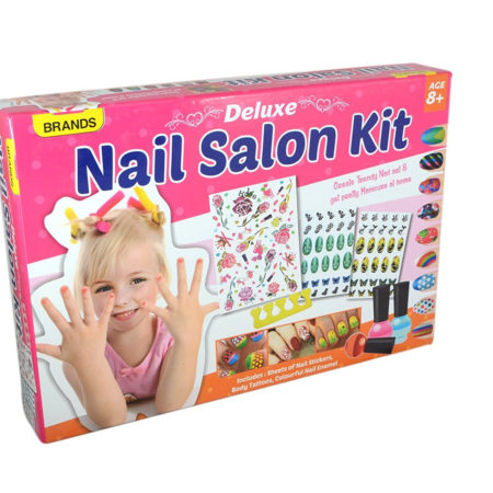 Play Craft Nail Salon Kit Deluxe (8Y+)-0