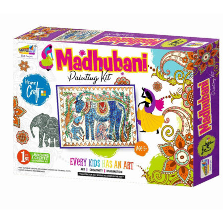 Mansaji's DIY Madhubani Painting Kit for Kids-0