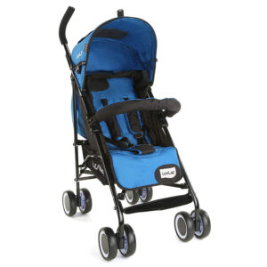 LuvLap City Baby Buggy Cum Stroller (18278) - Blue-0