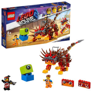Lego The Movie 2 Ultrakatty & Warrior Lucy Building Blocks (70827) - 383 Pieces-0