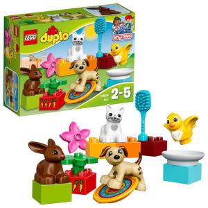 Lego Duplo Town Family Pets Building Blocks for Kids (10838) - 15 Pcs-0