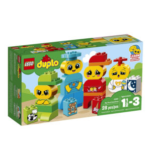 LEGO Duplo My First Emotions Building Blocks for Kids (10861) - 28 Pcs-0