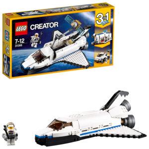 Lego Creator 3in1 Space Shuttle Space Shuttle Explorer (31066) - 285 Pieces-0