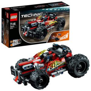 LEGO Technic Bash Racer Car Building Blocks for Boys (42073) - 139 Pcs-0