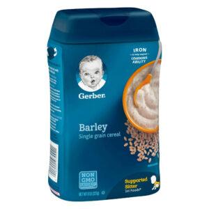 Gerber® Barley Single Grain Cereal - 227 gm -0