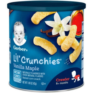 Gerber Graduates Lil Crunchies, Vanilla Maple - 42gm -0