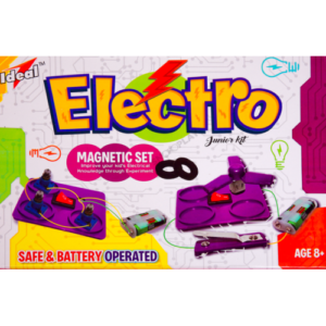 Ideal Junior Scientist Electromagnet Set I Basic Electromagnetic Experiments for Science Fair Projects-0