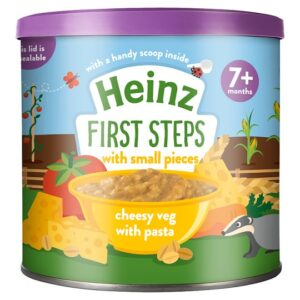 Heinz First Steps Cheesy Vegetable With Pasta With Small Pieces (7M+) - 200gm -0