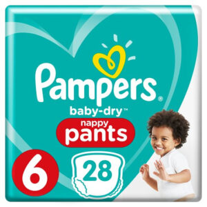 Pampers Baby Dry Pants Essential Pack Size 6 - 28 Pcs-0