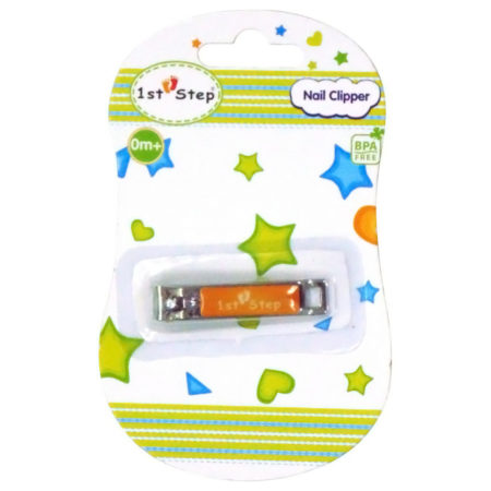 1st Step Baby Nail Clipper - Orange-0