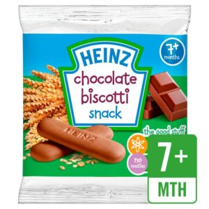 Heinz Chocolate Biscotti Snack (7m+) - 60 gm -0
