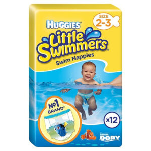 Huggies Little Swimmers Swim Nappies (3 to 8 Kg) - 12 Pcs-0