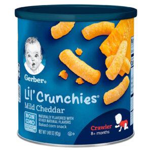 Gerber Lil' Crunchies, Mild Cheddar - Crawler-0