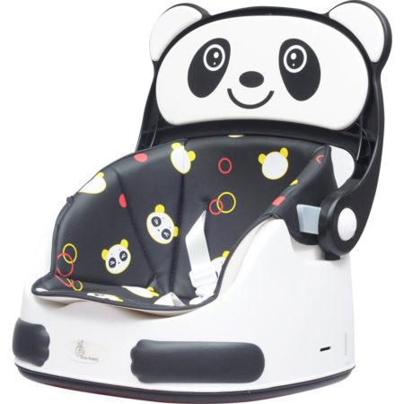 R For Rabbit Candy Crush Booster Chair, Seat - Black & White-0