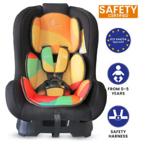 R for Rabbit Colourful Jack N Jill Convertible Baby Car Seat - Multicolor-0