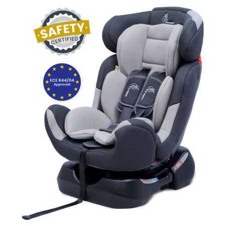 R For Rabbit Convertible Jack n Jill Grand Car Seat for Baby (0-7Y) - Grey-0